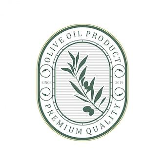 Badge huile d'olive