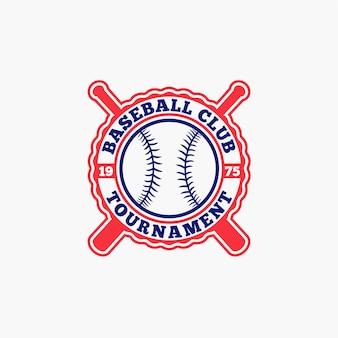 Badge de logo de baseball 7