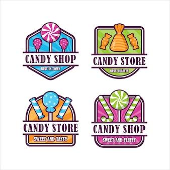 Badge de magasin de bonbons