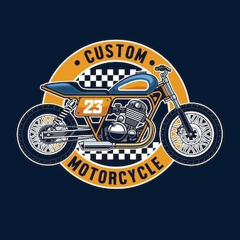 Badge moto tracker plat