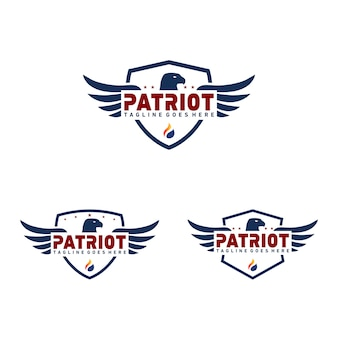Badge patriot logo