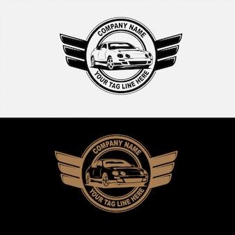 Badge rétro voiture