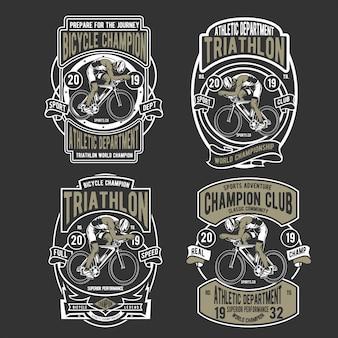 Badge de vélo