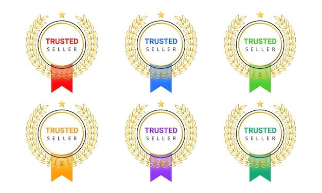 Badge de vendeur de confiance