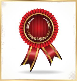 Badge vintage rétro