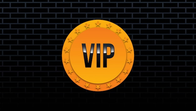 Badge vip