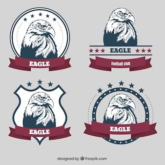 Badges aigle
