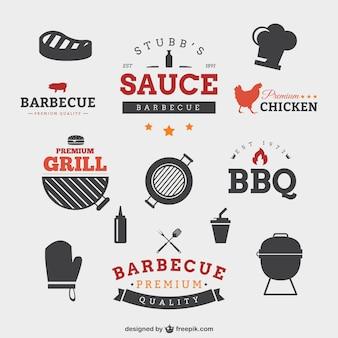 Badges de barbecue