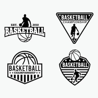 Badges de basket-ball
