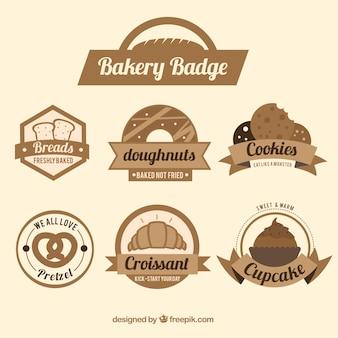 Badges de boulangerie
