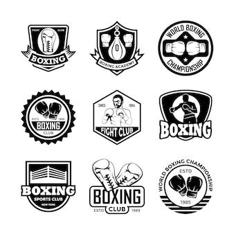 Badges de boxe