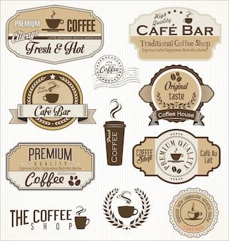 Badges de café