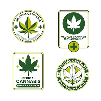 Badges de cannabis médical