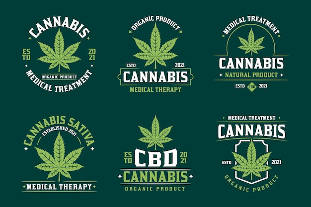 Badges de cannabis médical