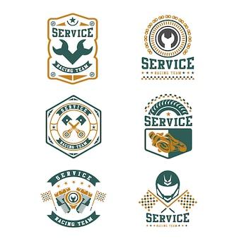 Badges de course