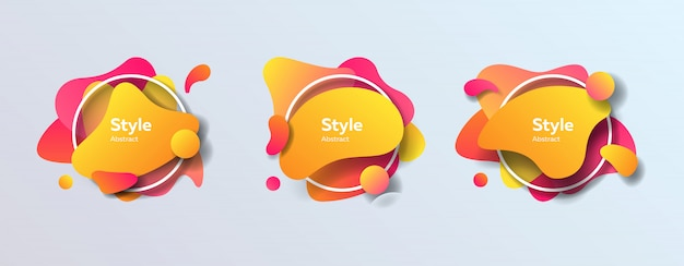 Badges définis pour l'application