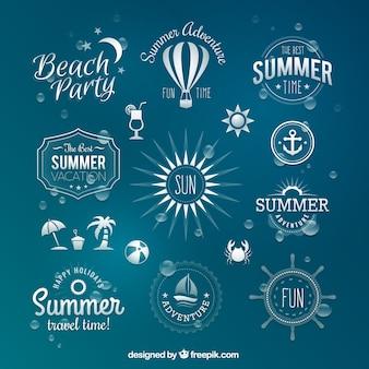 Badges d'été