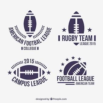 Badges de football américain