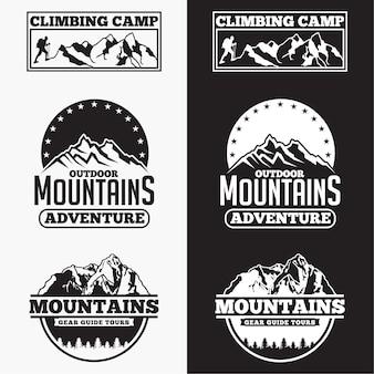 Badges de montagne