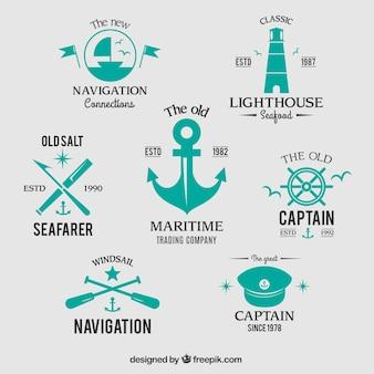 Badges nautiques
