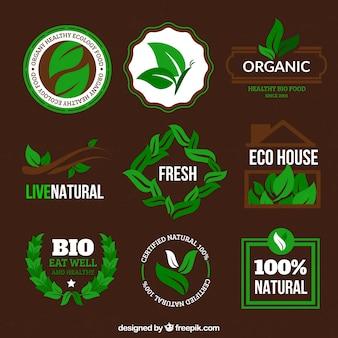 Badges organiques