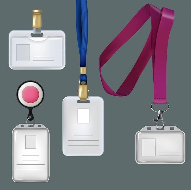 Badges personnels, cartes plastiques de sécurité