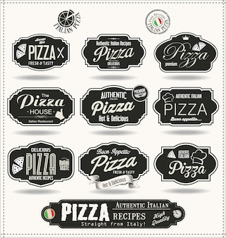 Badges de pizza