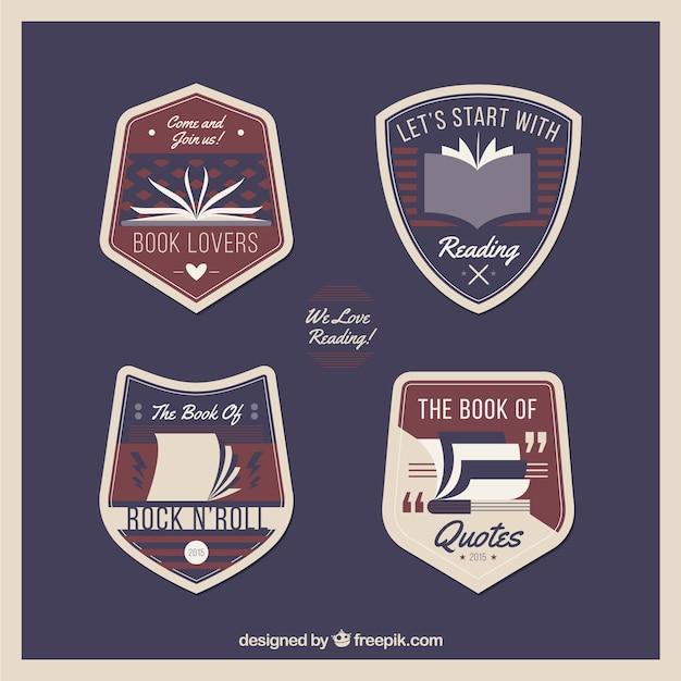 Badges réservez