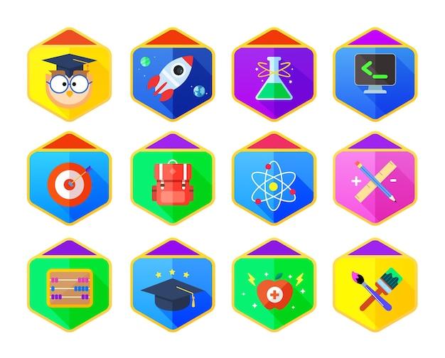 Badges scolaires