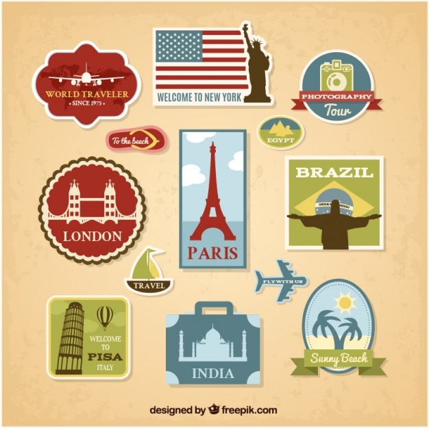 Badges de tourisme