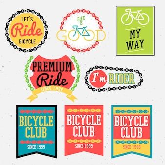 Badges de vélo