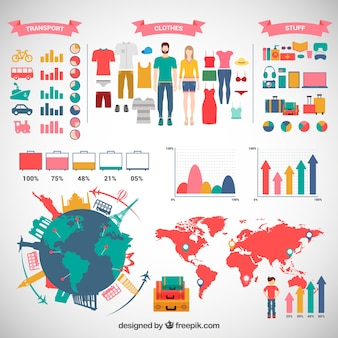Bagages infographie