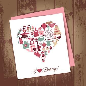 Bakery icon set vector illustration pour votre conception