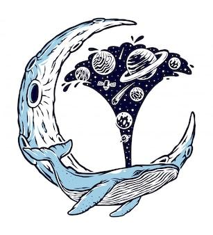 Baleine et l'univers