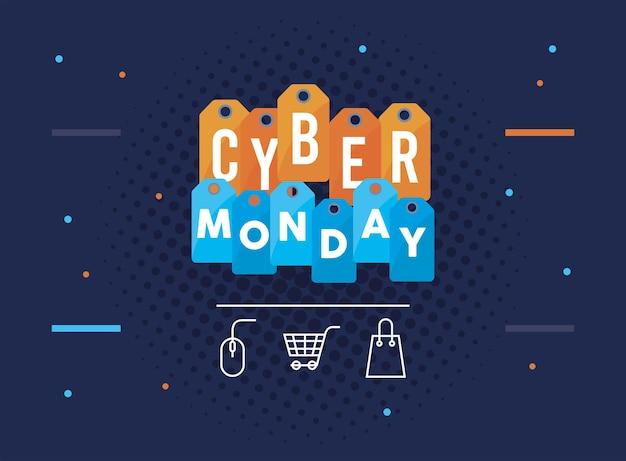 Balises du cyber lundi