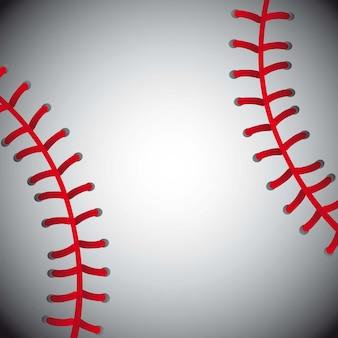 Balle de baseball texture fond illustration vectorielle