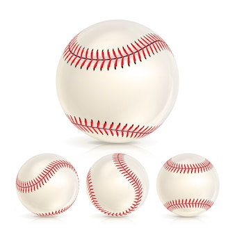 Balle de cuir de baseball