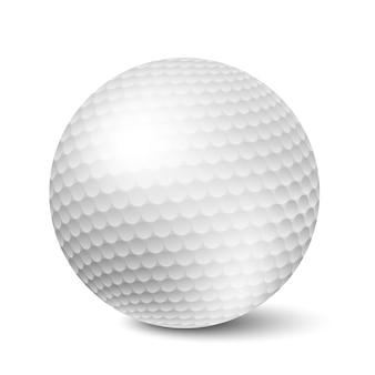 Balle de golf isolée
