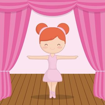 Ballerine de ballet