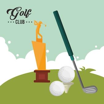 Balles de récompense de club de golf