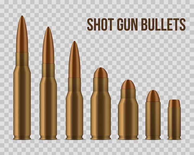 Des balles, des trous, des coups de feu, des armes de calibre.
