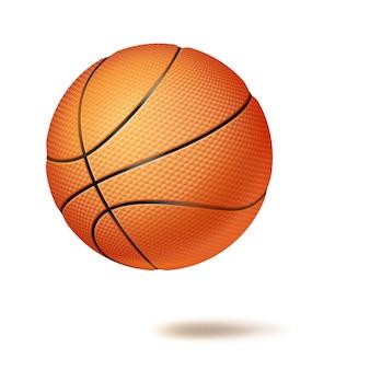 Ballon de basketball 3d