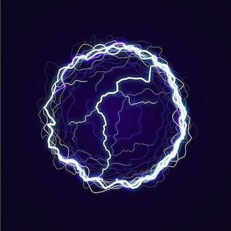 Ballon électrique avec effet de lumière