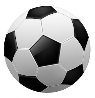 Ballon de foot, vecteur