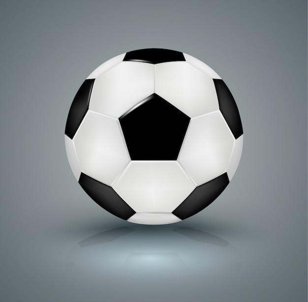 Ballon de football réaliste.