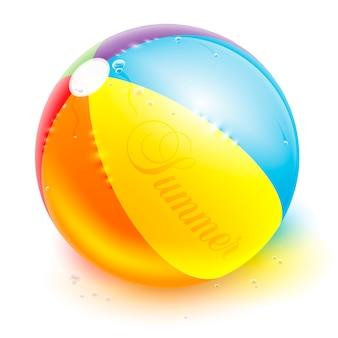 Ballon de plage réaliste