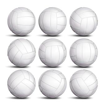 Ballon de volleyball réaliste