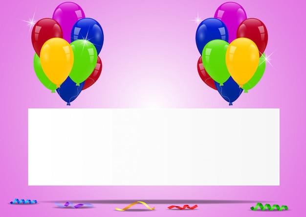 Ballons d'anniversaire avec signe vierge
