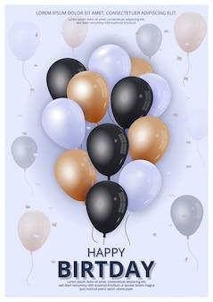 Ballons d'anniversaire
