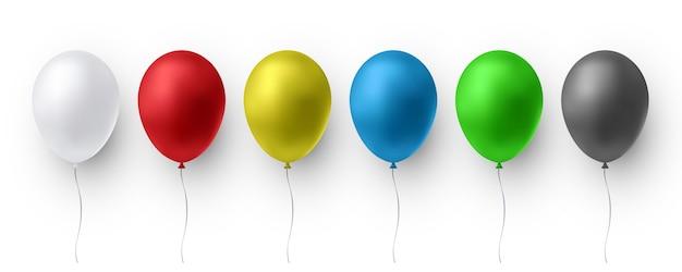 Ballons brillants réalistes